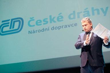 Generální ředitel Českých drah Pavel Krtek.