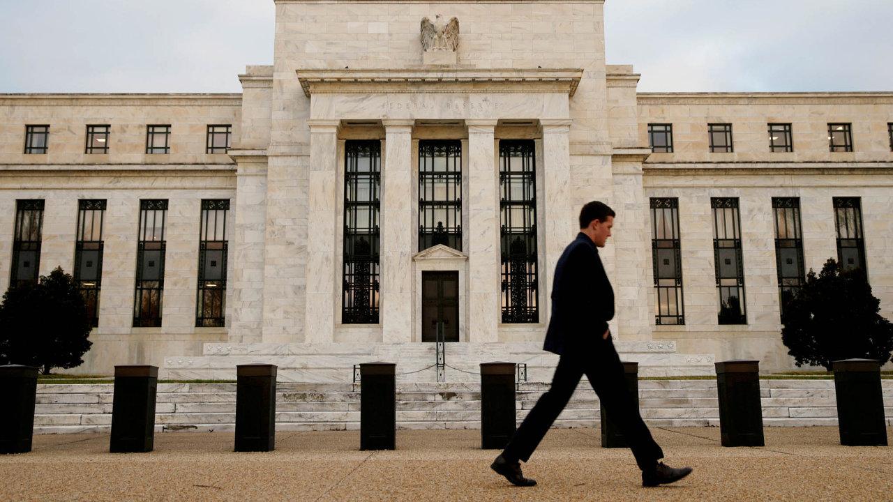 Americká centrální banka.
