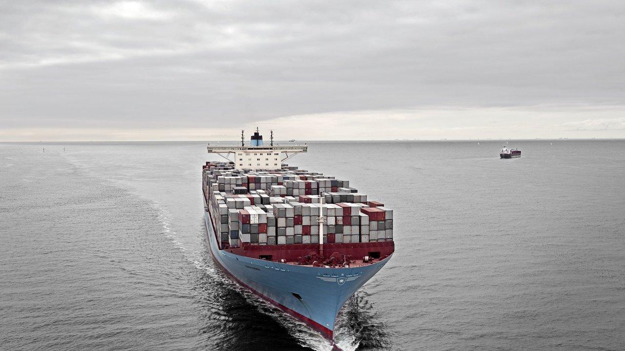 Ilustrační foto - Maersk zatím oficiálně existenci lodi Madrid ani její rozměry nepotvrdil.