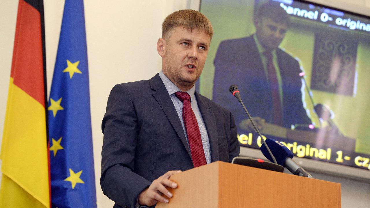 Náměstek ministra zahraničních věcí Tomáš Petříček.
