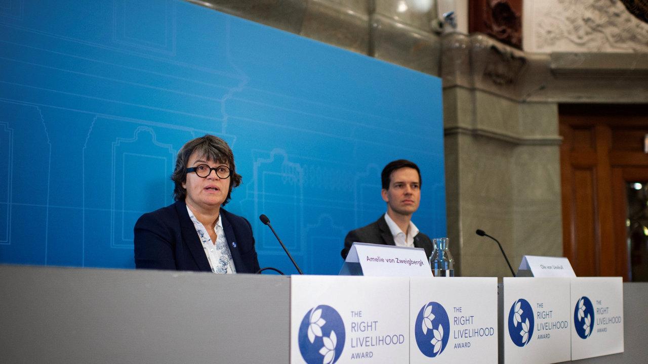 Ve Stockholmu byly předány alternativní Nobelovy ceny Right Livelihood Award