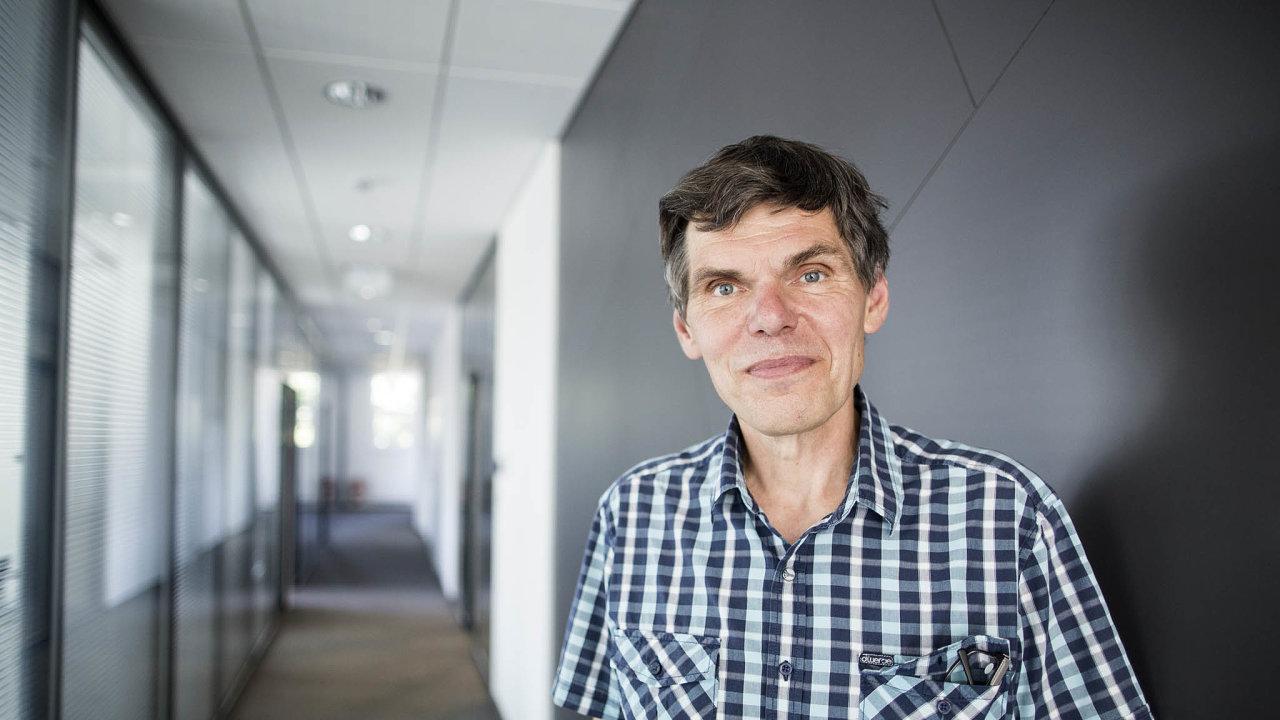 Dalibor Dědek, zakladatel, spoluvlastník apředseda představenstva Jablotron Group