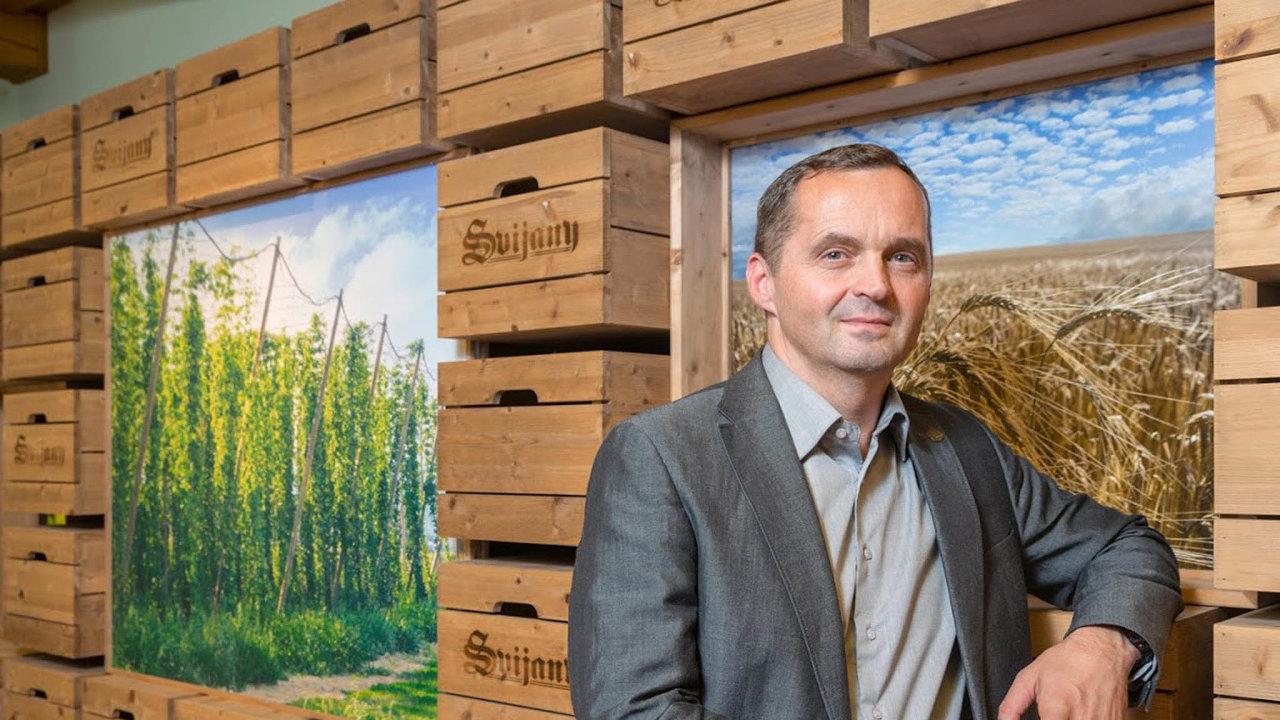 Ředitel pivovaru Svijany Roman Havlík