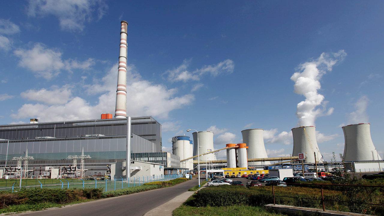 Škoda Praha se podílela nastavbě zhruba stovky elektráren, na snímku Tušimice.