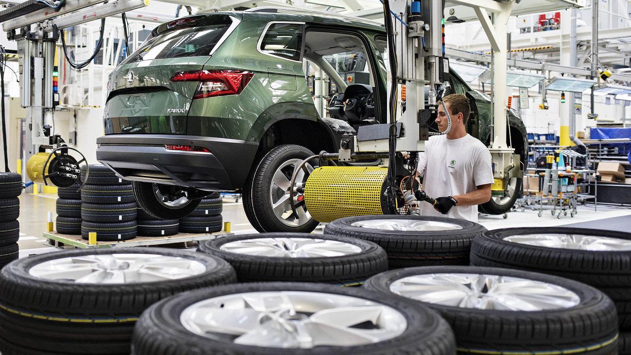 Česká Škoda Auto v zemích EU za pololetí prodala meziročně o 1,3 procenta méně vozů. I to se dá považovat za úspěch. Celý trh klesal více než dvojnásobným tempem.