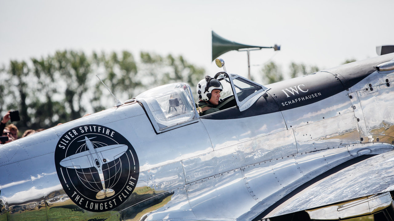 Start expedice Silver Spitfire - The Longest Flight