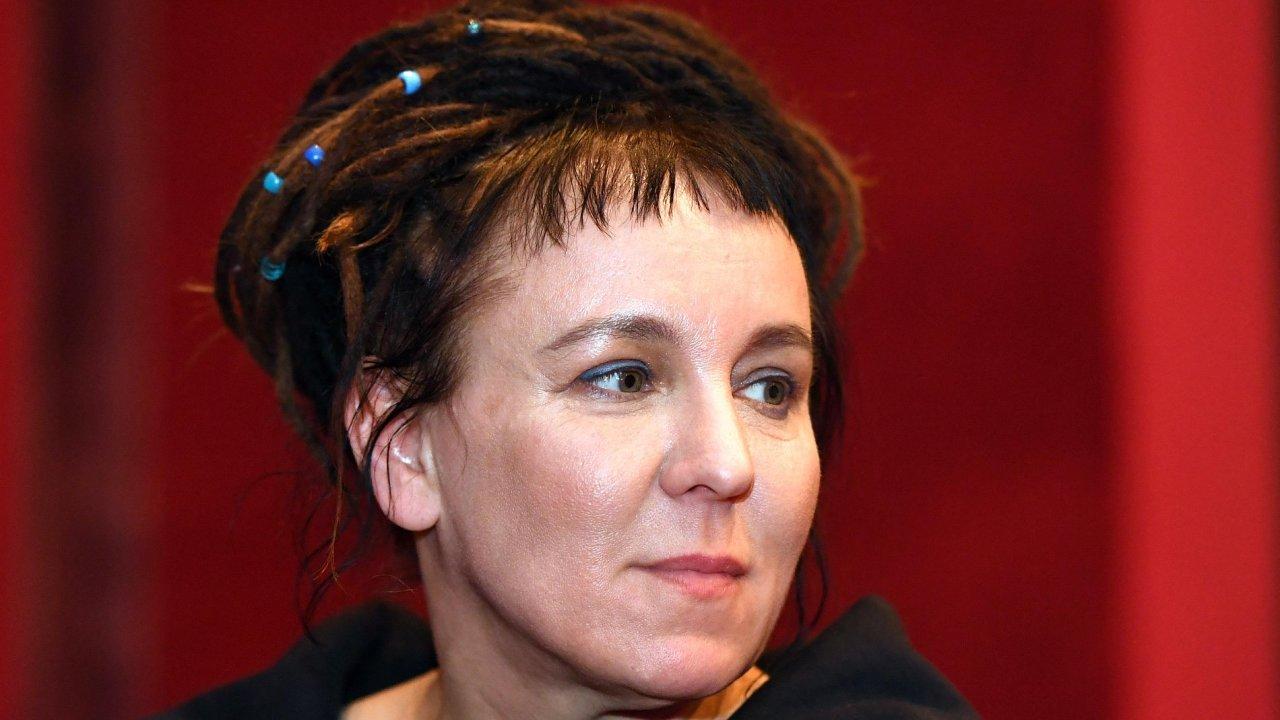 Olga Tokarczuková vystoupila ve středu v pražské Maiselově synagoze, ve čtvrtek besedovala se čtenáři v Brně.