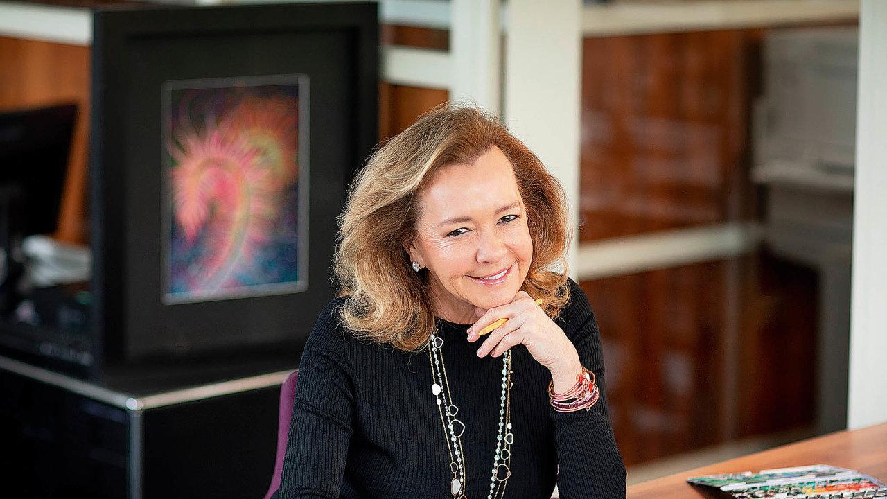 Umělecká ředitelka aspoluprezidentka šperkařského impéria Chopard Caroline Scheufeleová