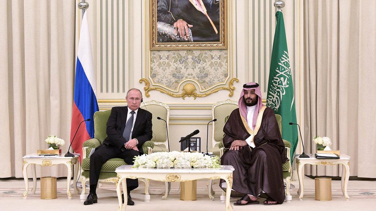 Druhá návštěva Vladimira Putina vSaúdské Arábii ukázala, že Moskva myslí svůj geopolitický návrat doregionu vážně.