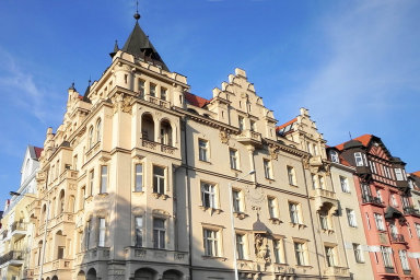 Průměrný nájem v Praze vystoupal na 307 korun za metr čtvereční, to u bytu o výměře 60 metrů čtverečních činí 18 tisíc korun měsíčně - Ilustrační foto.