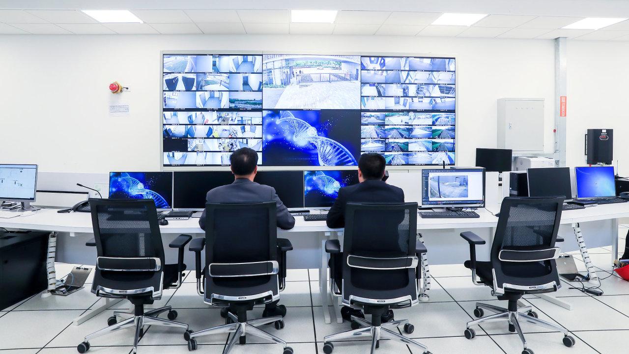 V Číně se rychle rozvíjí sledovací byznys, do roku 2020 by země ráda měla systém dat o každém občanovi na základě biometrických údajů - Ilustrační fotografie.
