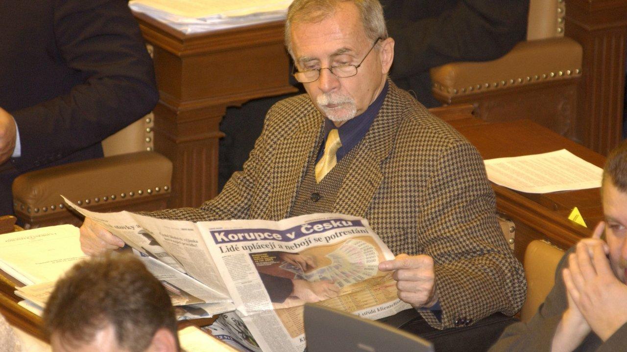 Stanislav Křeček, kterého chce prezident navrhnout za ombudsmana - Archivní foto.