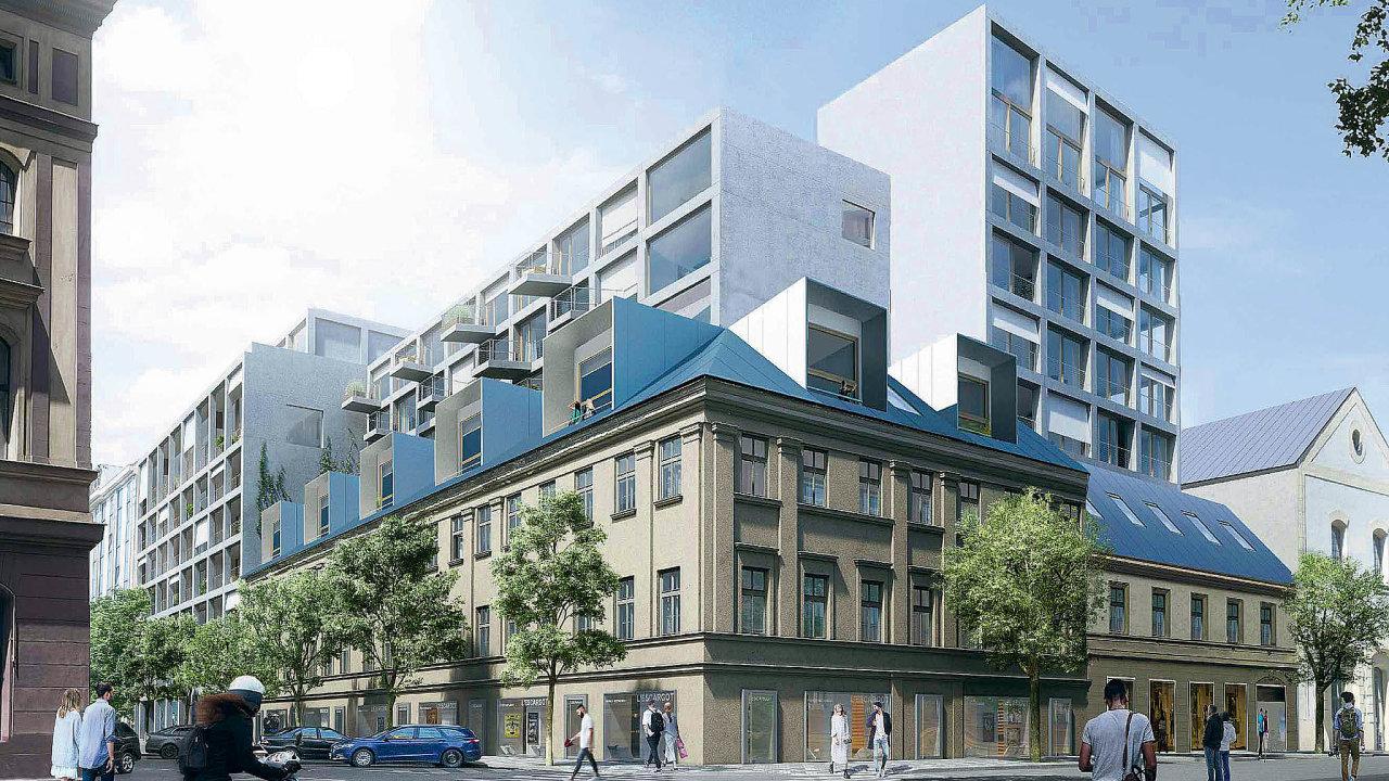 Na rohu ulic Thámova a Pernerova v Karlíně začne v únoru společnost AFI Europe s pracemi na projektu Tulipa Karlín. V jeho rámci zrekonstruuje stávající budovy a ve vnitrobloku postaví bytový dům.