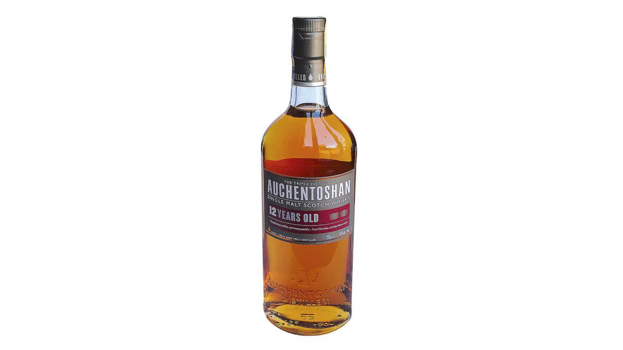 Skotská whisky Auchentoshan