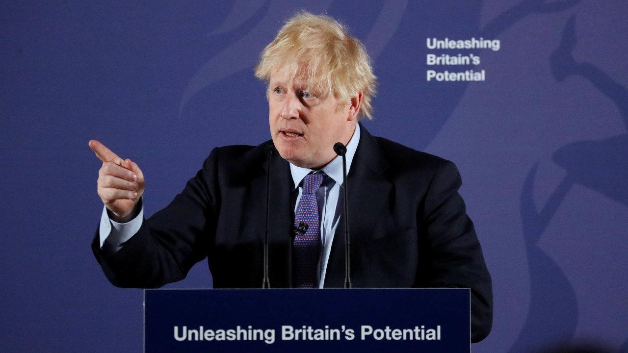Britský premiér Boris Johnson prohlásil, že