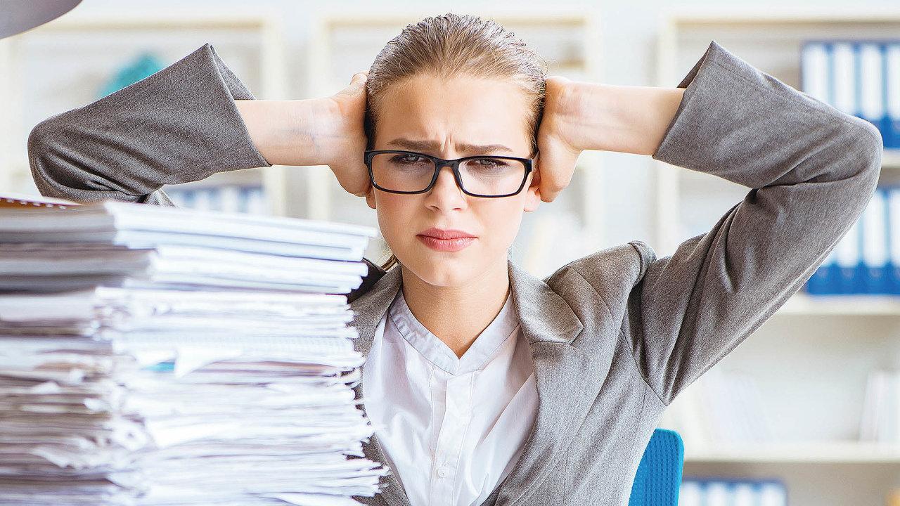 V každém podniku existuje řada opakujících se procesů, které svou jednoduchostí ačasto imnožstvímzaměstnancespíše obtěžují.