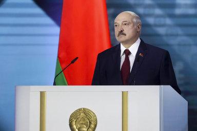 Běloruský prezident Alexandr Lukašenko přednesl svůj bilanční projev.