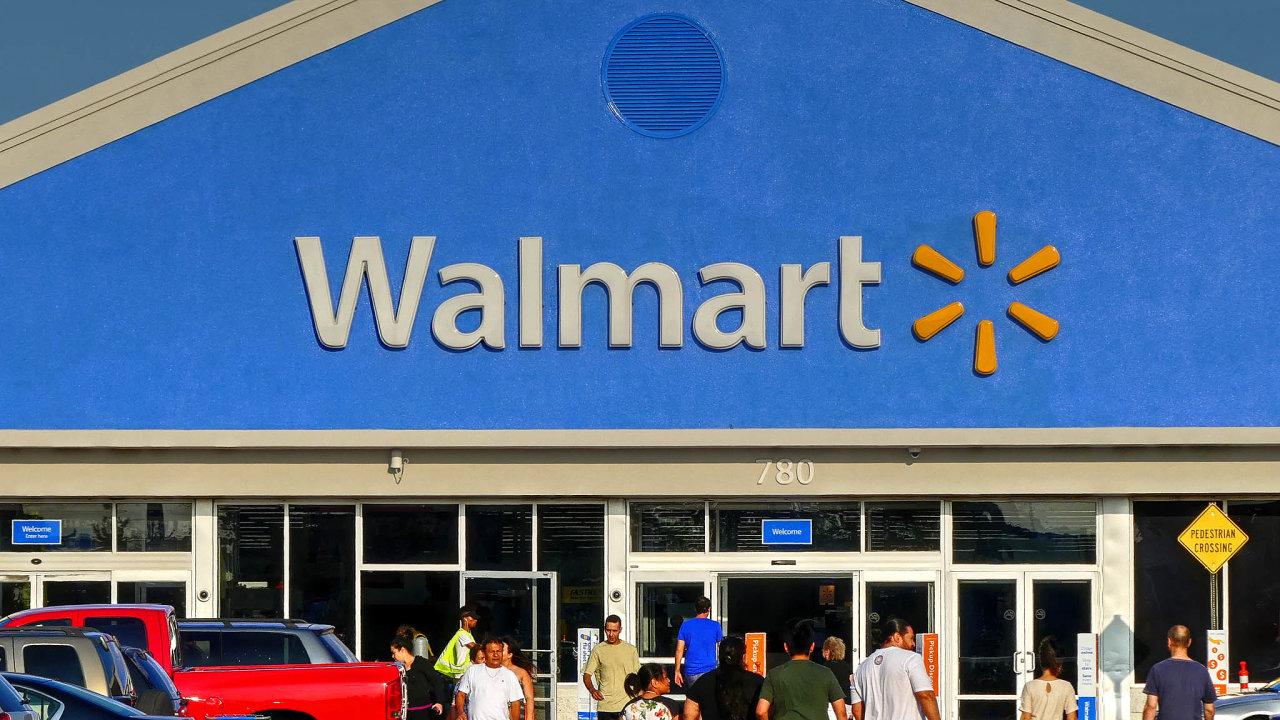 Výsledky hospodaření zadruhé čtvrtletí v úterý zveřejní americký maloobchodní řetězec Walmart.