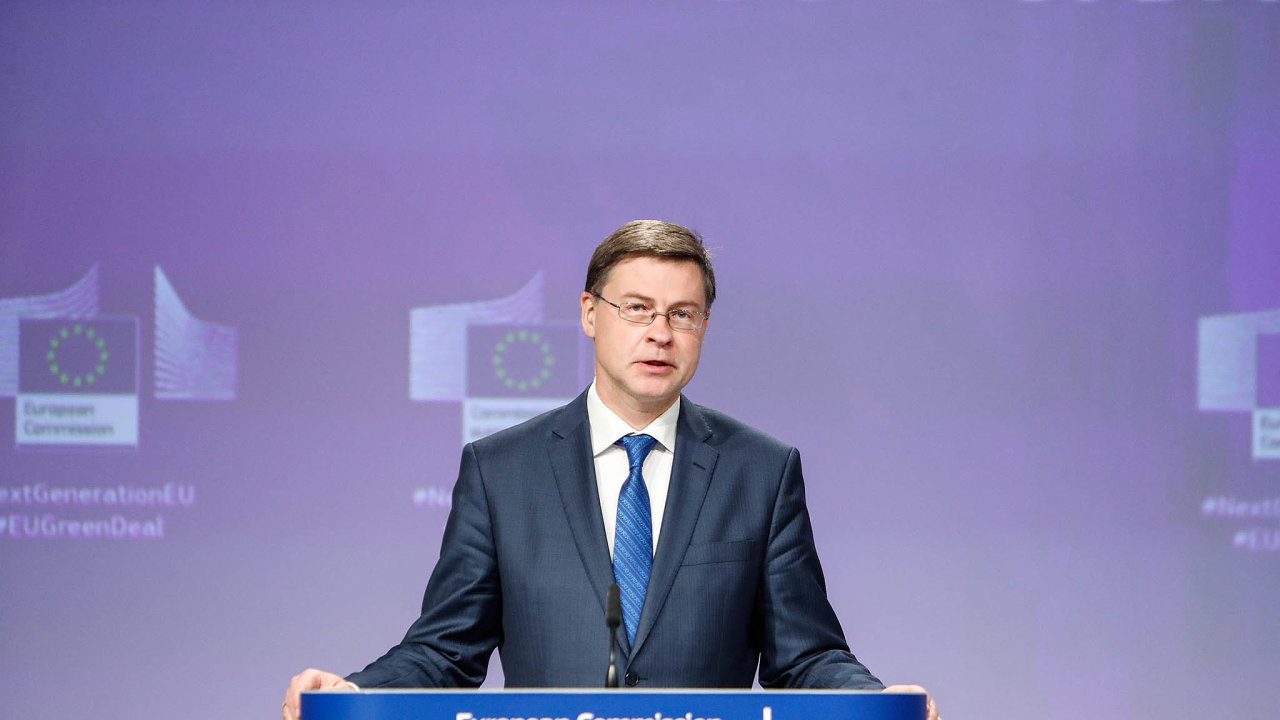 Valdis Dombrovskis, výkonného místopředseda Evropské komise, bývalý lotyšský premiér, by se nyní měl stát také eurokomisařem pro mezinárodní obchod.