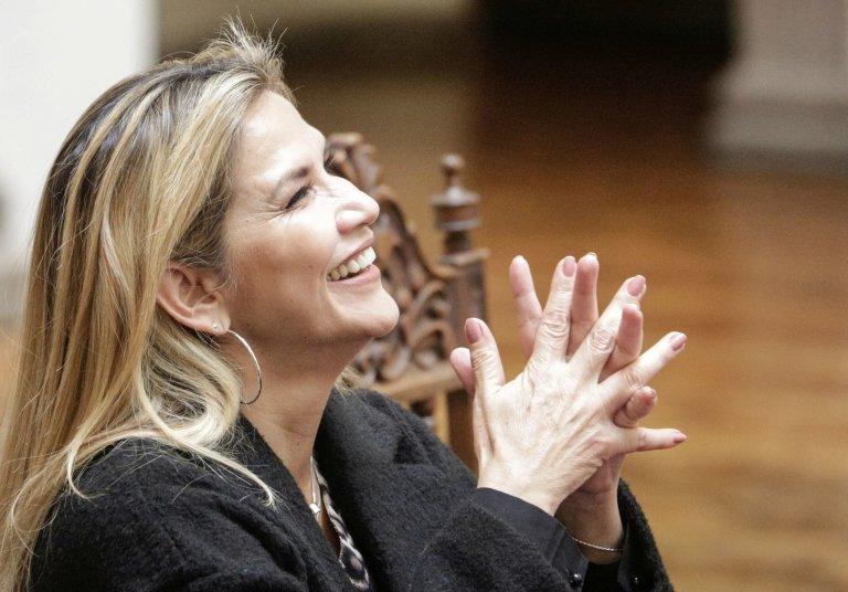 Bolivijská prezidentka Jeanine Áňezová