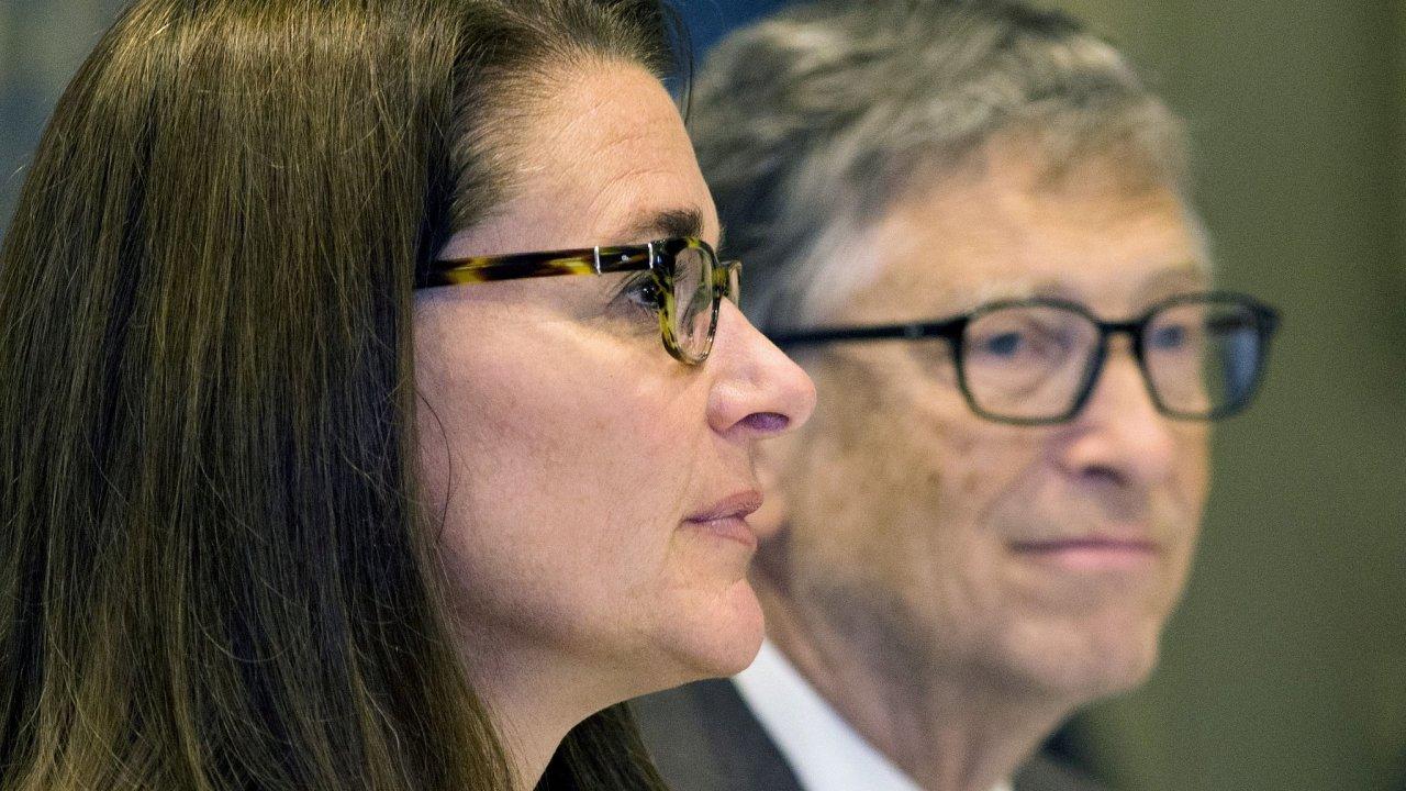 Od letošního května je jasné, že se Bill Gates a Melinda Frenchová Gatesová rozvádějí.