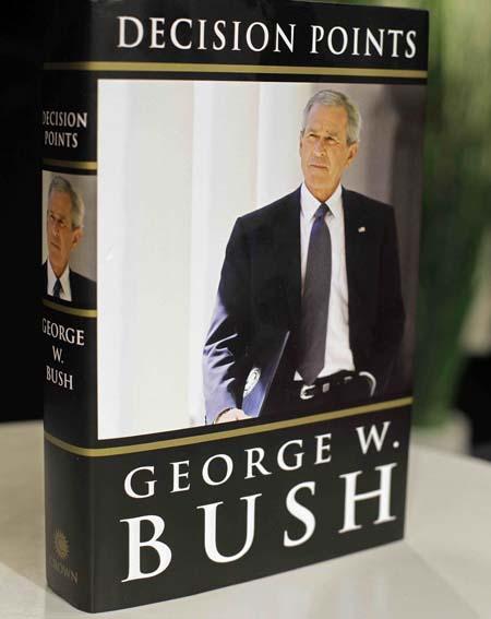 George Bush, USA, memoáry