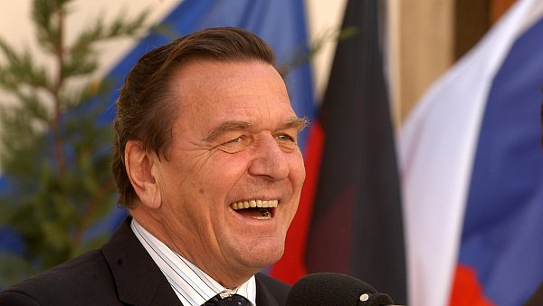 Bývalý německý kancléř Gerhard Schröder.