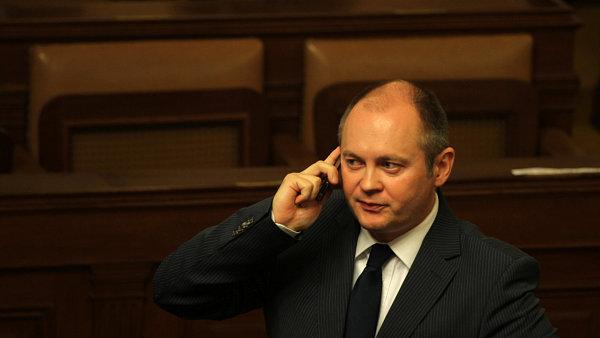 Michal Hašek ve sněmovně