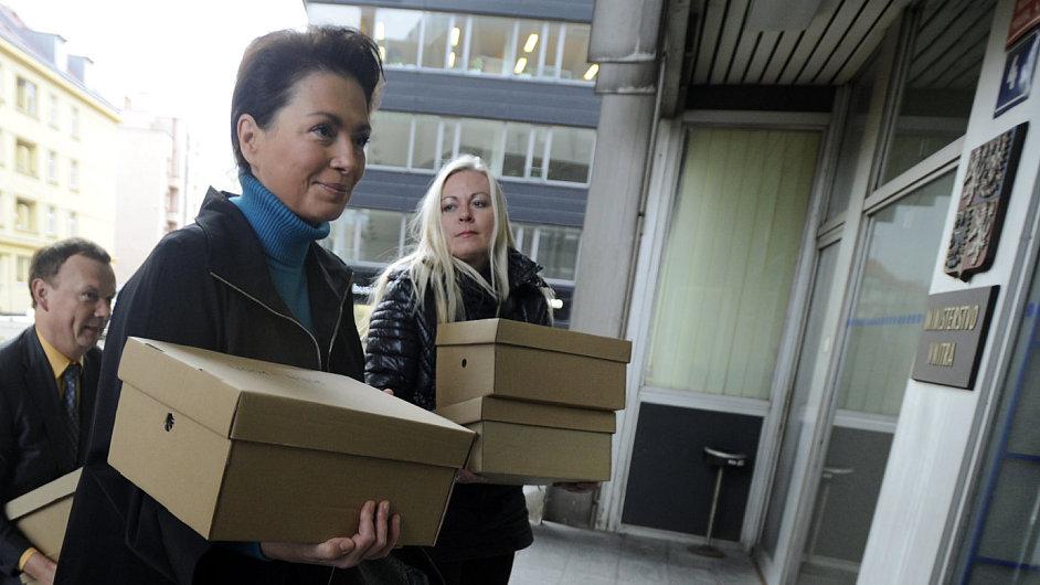 Jana Bobošíková sehnala na 55 tisíc podpisů