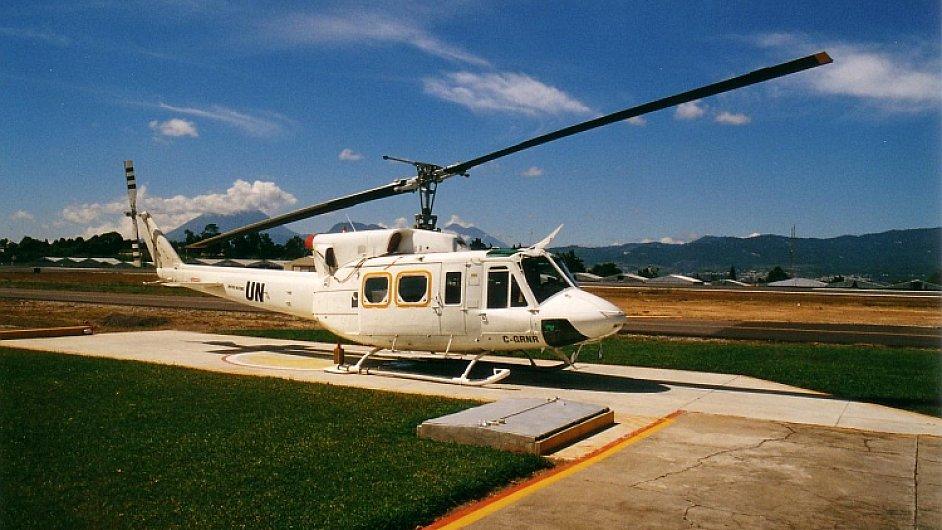 Vrtulník OSN, ilustrační foto