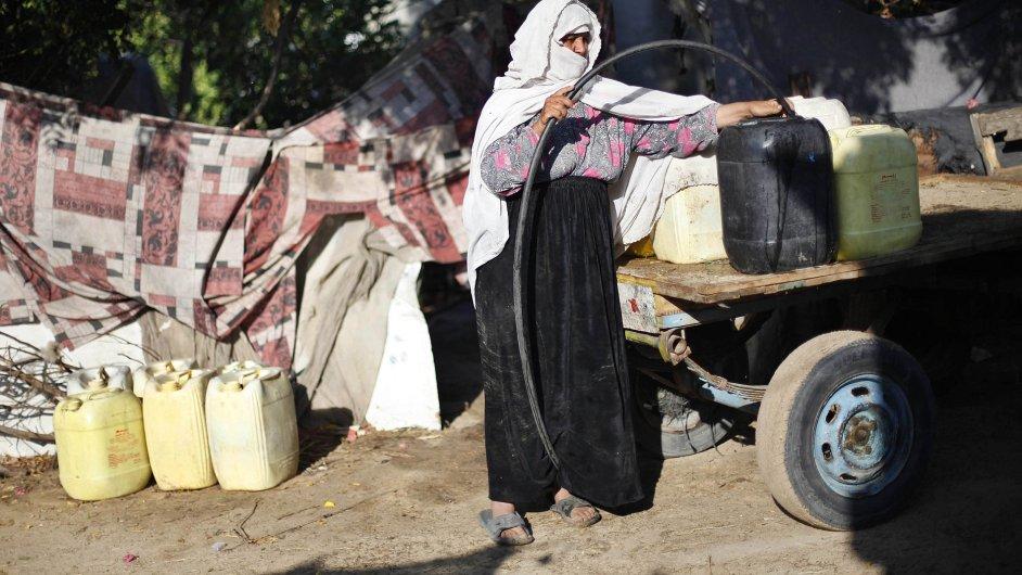 Život v pásmu Gazy.