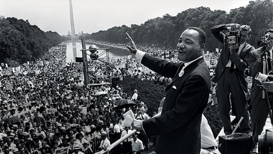 Talent, bez kterého by se neobešli. (Martin Luther King před svým legendárním projevem)