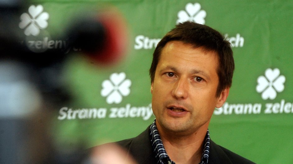 Petr Štěpánek kandiduje na předsedu Strany zelených.
