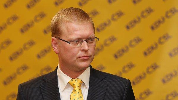 Předseda KDU-ČSL Pavel Bělobrádek.