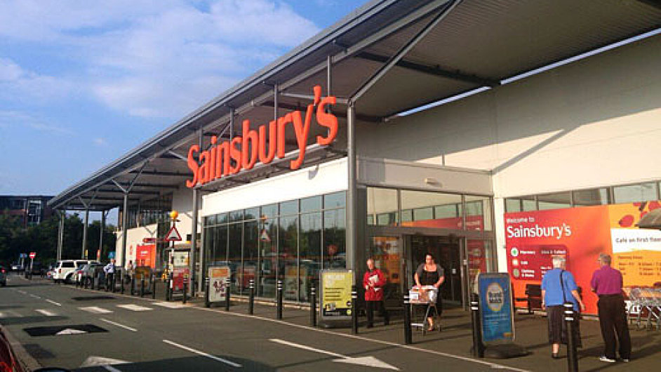 Obchod Sainsbury's v Cannocku