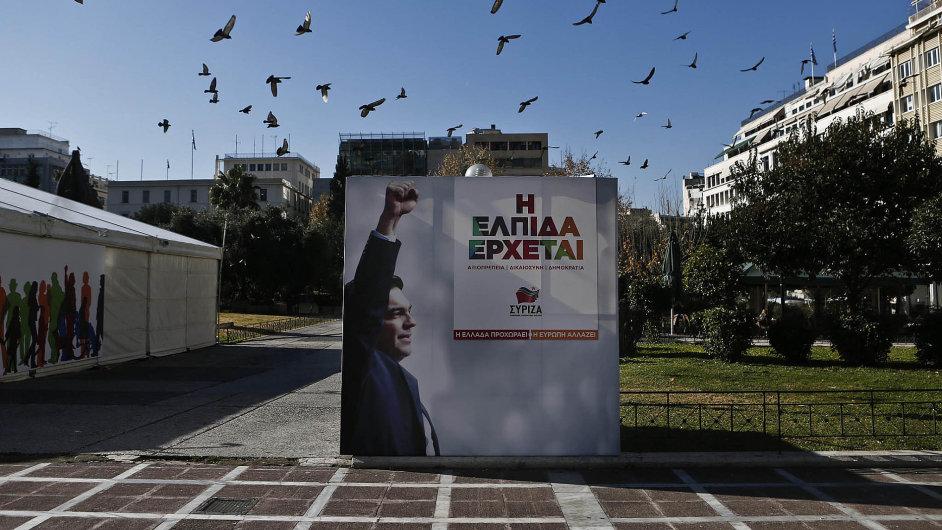 Odhodlaně kupředu: Lepší budoucnost chce pro Řecko nastartovat levicové hnutí Syriza. Potřebuje ale odpustit stávající dluhy zbídačené země.