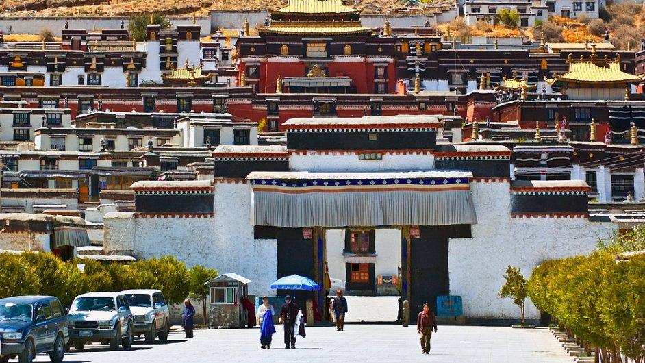 Klášter Tašilhünpo v Žikace, Tibet