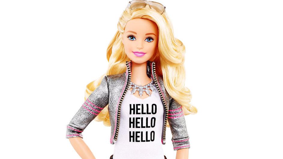 Mluvící panenka Barbie s WiFi