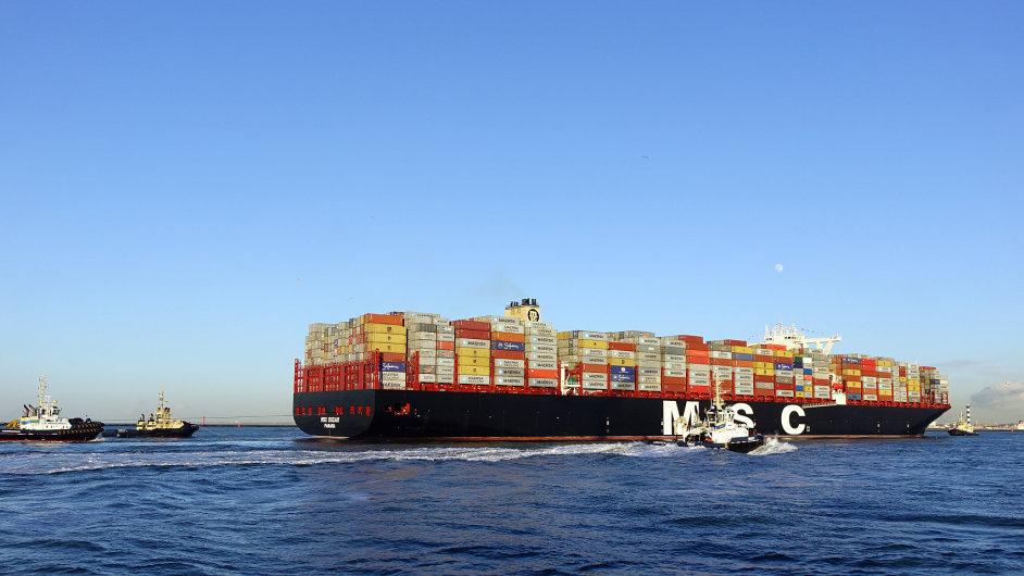 Vytvoření rejdařských aliancí povede k většímu využívání největších kontejnerových lodí a menší četnosti plaveb.