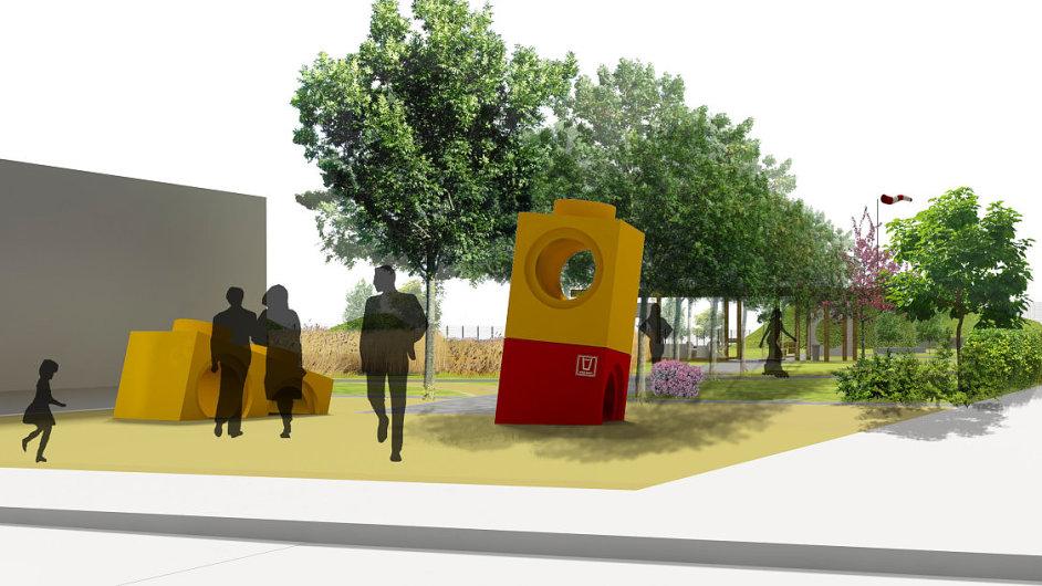 Vizualizace vstupu do parku