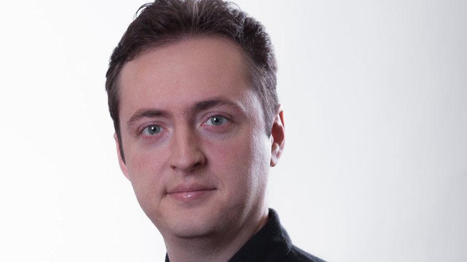 Šéf průzkumu Češi v síti Pavel Ranocha