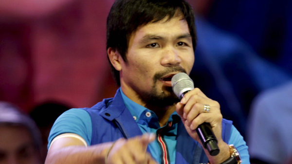 Filipínský boxer Manny Pacquiao je ve své zemi legendou. Nyní vede kampaň za své znovuzvolení senátorem. Uškodí mu v květnových volbách jeho homofobní výroky?