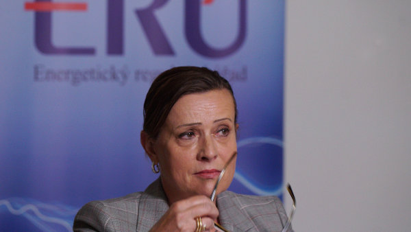 Šéfka Energetického regulačního úřadu Alena Vitásková