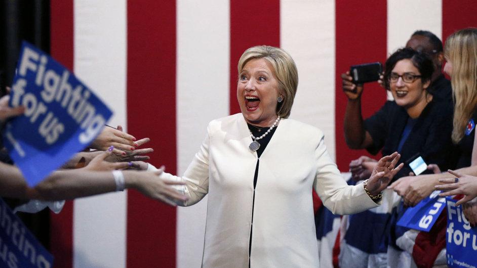 Hillary Clinton, volby USA
