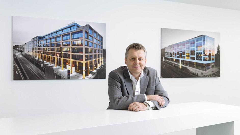 Petr Herman, výkonný ředitel společnosti HB Reavis pro Česko