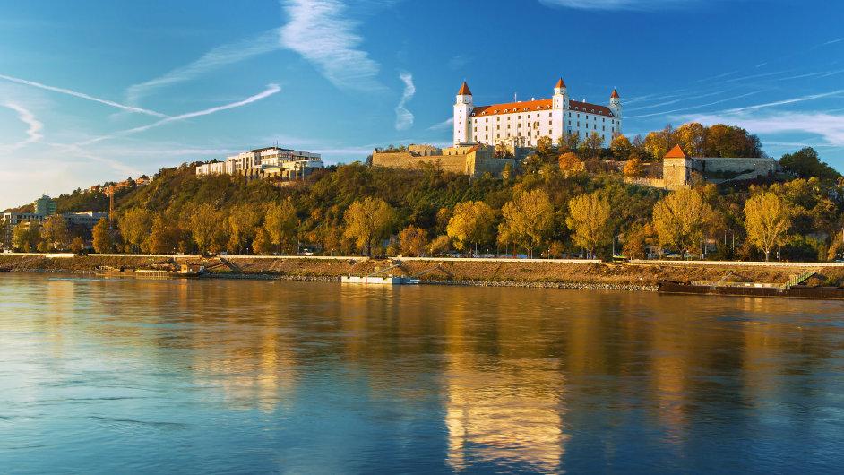 Slovensko Bratislava Bratislavský Hrad