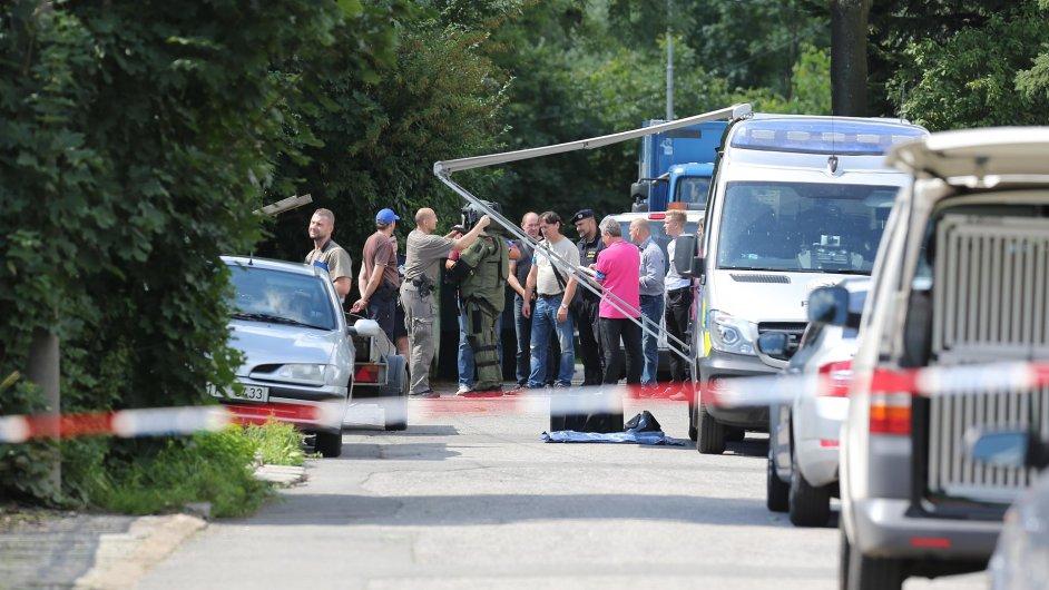 Policisté zastřelili 20. července dlužníka, který v Ostravě-Hrabůvce při soudním vystěhování postřelil exekutora a ženu.