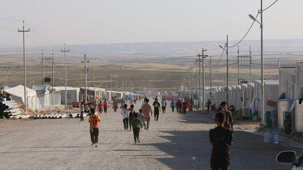 Uprchlický tábor v Iráku - Ilustrační foto