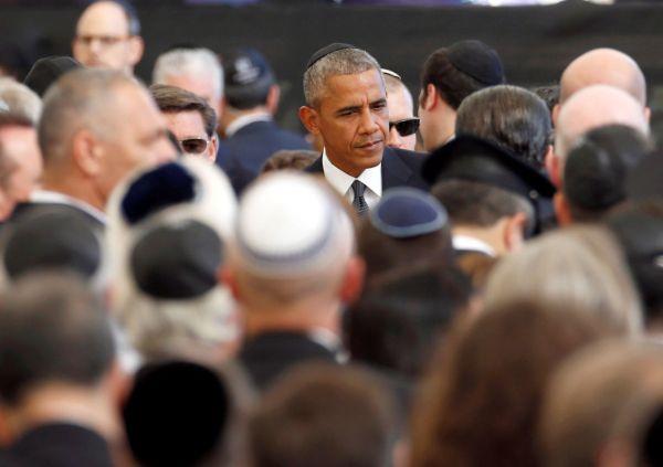 Éra velikán� skon�ila, na poh�bu se Peresovi klan�li Izraleci, Palestinci i Obama