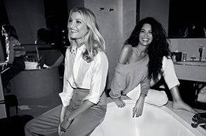 Fashionstory: Milánský víkend Terezy Maxové a Afef Jnifenové